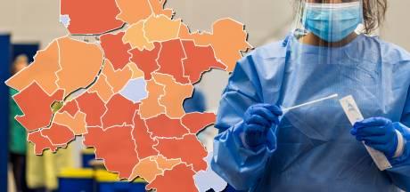 KAART | Lichte stijging aantal coronagevallen Oost-Nederland, Rijssen-Holten 'koploper' in de regio