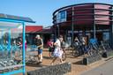 Winkelcentrum in Kamperland.