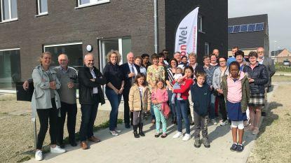 22 sociale huurwoningen in Sluiswijk ingehuldigd