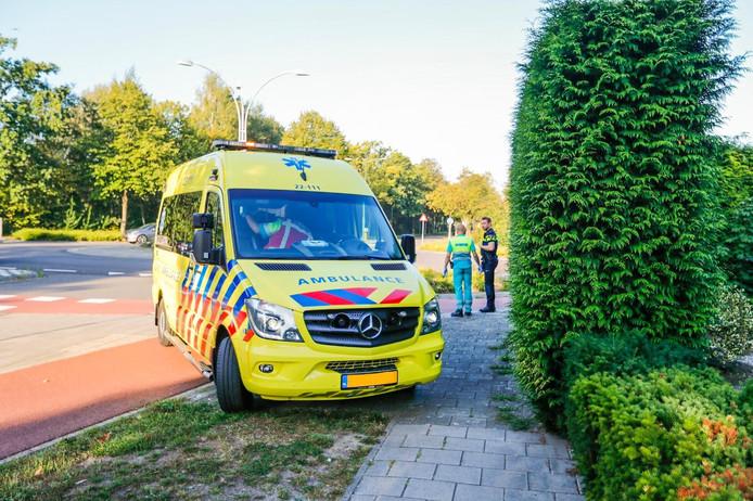 Een man raakte gewond bij een ongeval in Nuenen.