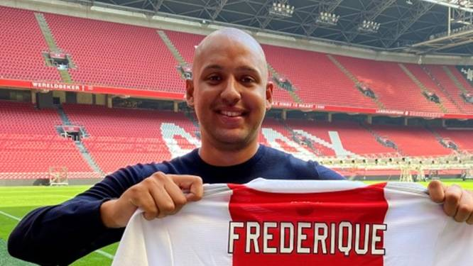 FIFA-speler Levy Frederique tekent contract bij Ajax