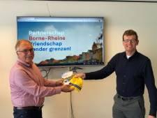 Drie nieuwe impulsen voor partnerschap Borne-Rheine: een website, een folder en een voorzitter