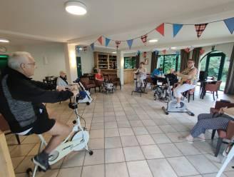 """Bewoners Kasteelhof tonen zich kampioen op de fiets: """"Meer dan 1.000 kilometer bij elkaar gereden in week tijd"""""""