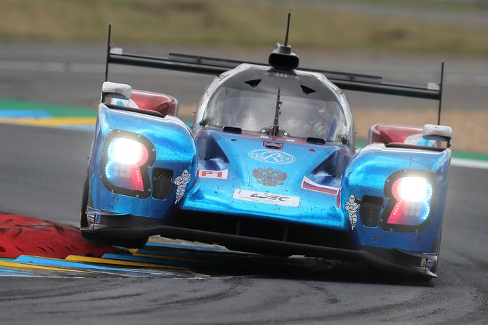 Stoffel Vandoorne vorig jaar in Le Mans als lid van SMP Racing.