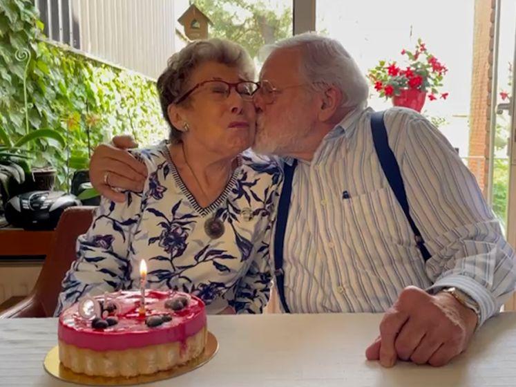 Annie Geeraerts, de Bomma uit 'Familie', wordt vandaag 95!