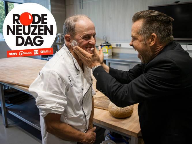 """INTERVIEW. Sterrenchef Roger van Damme (50) en zijn leraar bakkerij (60): """"Er zaten monsters in mijn klas. En ik onderging"""""""
