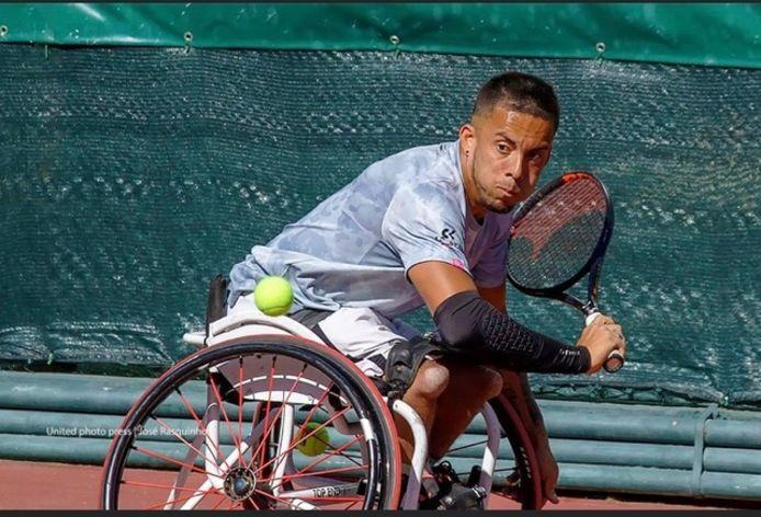 Carlos Anker uit Arnhem bereidt zich in Madrid voor op de Paralympische Spelen van Tokio.