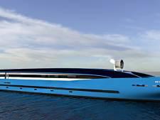 Bouw van hypermodern miljoenenschip van start: 'Voor het waterstofsysteem is nog acht ton nodig'