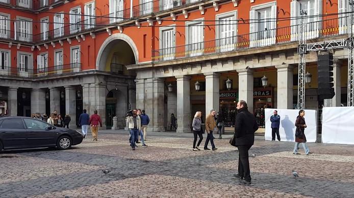 Het Plaza de Mayor in Madrid