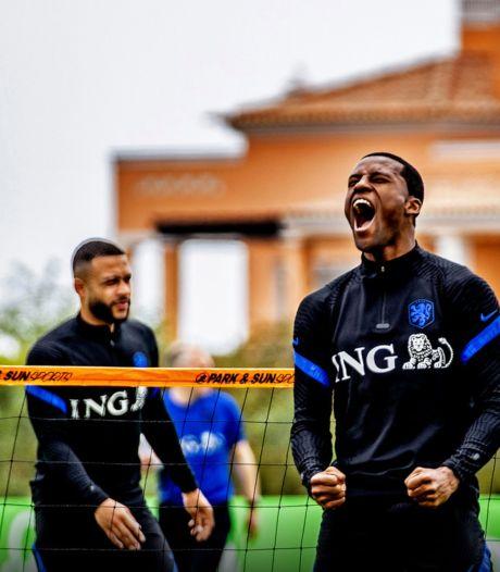 Wijnaldum is trotse Oranje-captain: 'Maar Memphis, De Ligt en De Roon zijn ook aanvoerders'