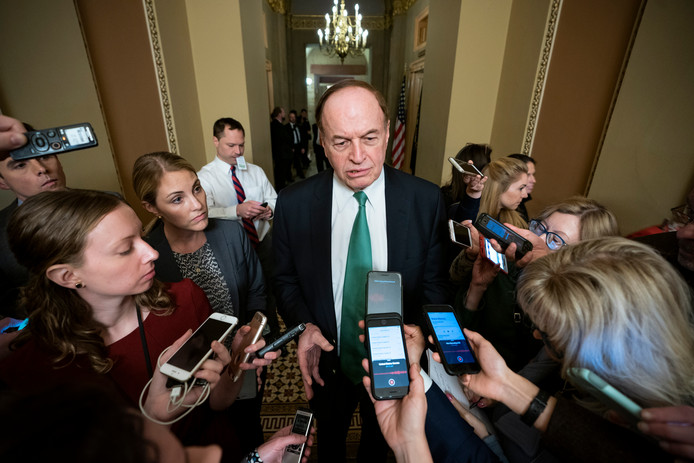 De Republikeinse senator Richard Shelby