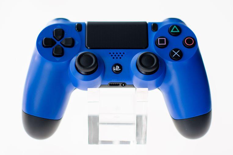 De nieuwe Playstation-controller. Beeld AFP