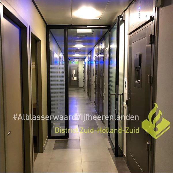 Het cellencomplex in Dordrecht.