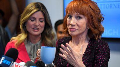 Kathy Griffin in ziekenhuis met 'pijnlijke symptomen' coronavirus