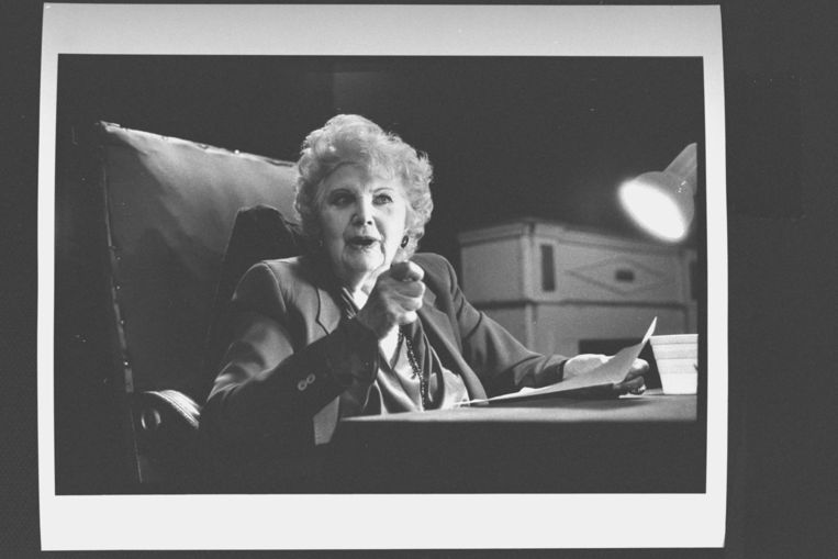 Stella Adler. Beeld The LIFE Images Collection via G