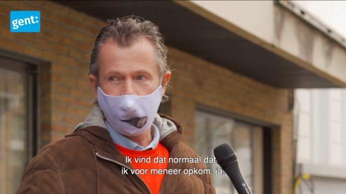 Screenshot uit het filmpje dat stad Gent maakte naar aanleiding van het nieuwe actieplan.