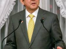 Le premier ministre japonais persiste et signe
