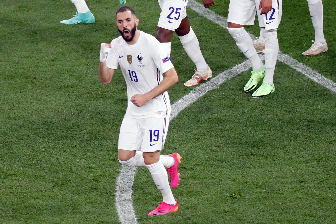 Benzema scoorde een goedkope penalty.
