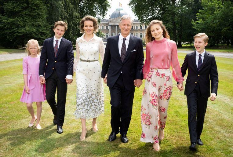 Nieuwe foto's van het koninklijke gezin.