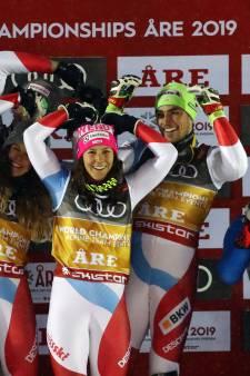 Primeur voor Zwitserse skiërs op WK