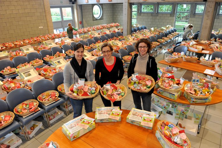 Ook de voorbije jaren werden honderden ontbijtmanden gevuld ten voordele van de basisschool van Liezele