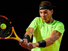 Nadal maakt na ruim zes maanden overtuigende rentree in Rome