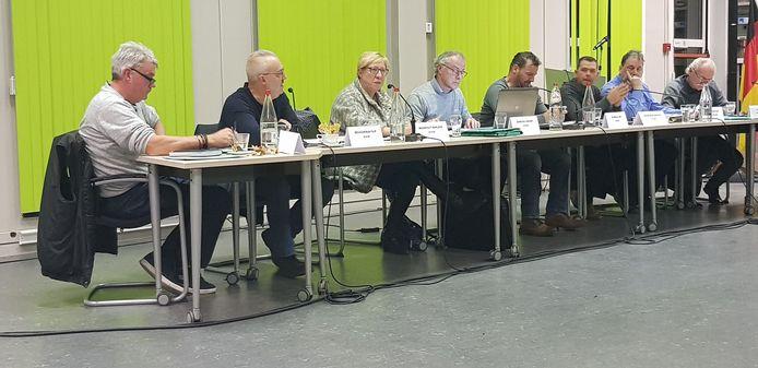 De VLD-SD-fractie gisteren tijdens de gemeenteraad.