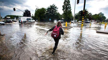 Onweer zorgt voor wateroverlast in Oost-Limburg