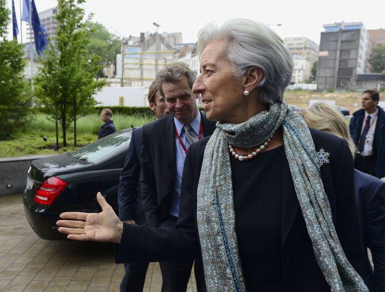 IMF-topvrouw Christine Lagarde. Beeld AFP