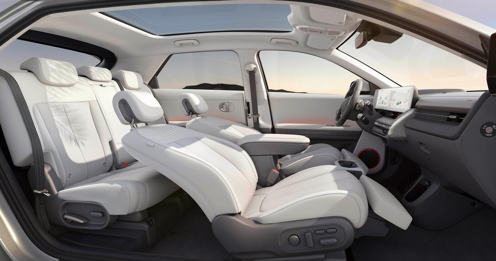 De relaxstoelen van de Hyundai Ioniq 5