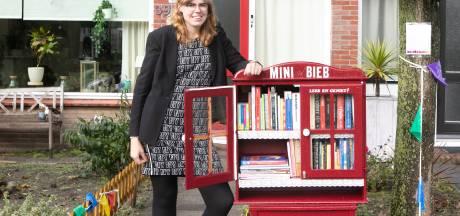 De minibieb in Hardenberg is altijd open