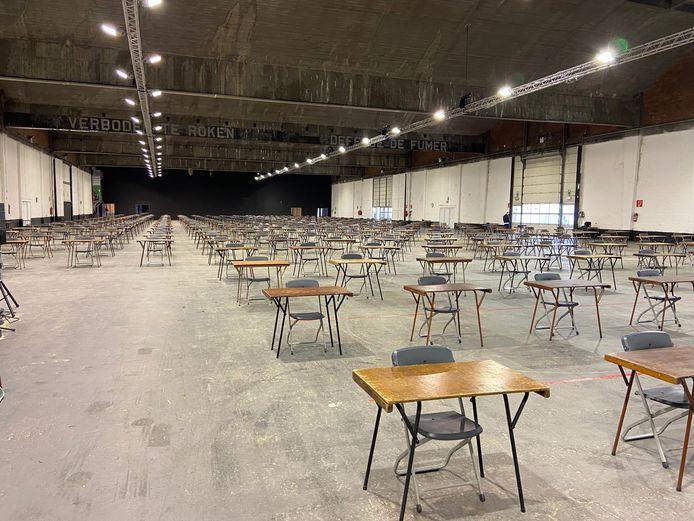 De Waagnatie in Antwerpen is klaar om studenten te ontvangen.