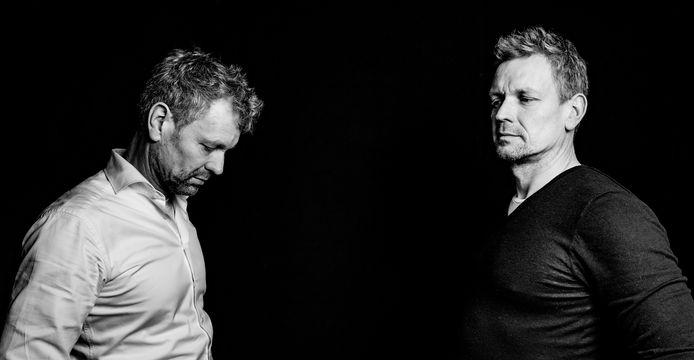 Marius en Ronald Bos.