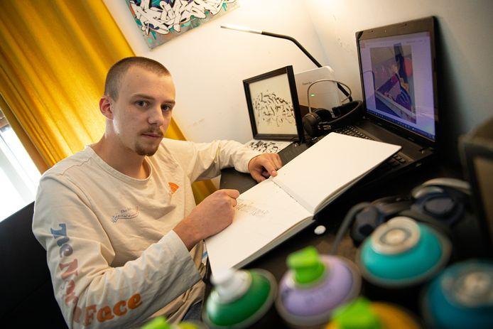 Graffiti kunstenaar Joris Oostinga