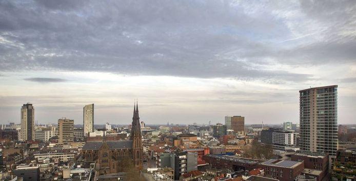 De skyline van Eindhoven.