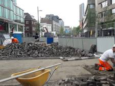 Laatste loodjes, ehh... steentjes voor eerste deel Vestdijk in Eindhoven
