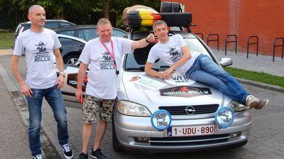 Met oude Opel naar Mongolië