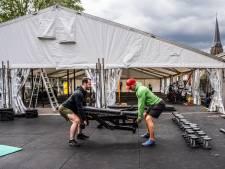 Indoor Action Arnhem verruilt parkeerplaats voor coronavrij buiten sporten in open tent