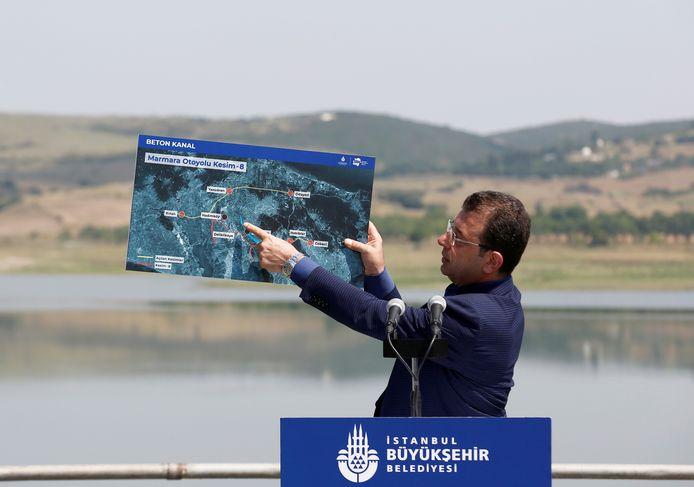 Imamoglu: 'Dit kanaal is destructief voor de natuur. Het zal de ecologische balans verstoren, de geografie van de stad compleet veranderen'