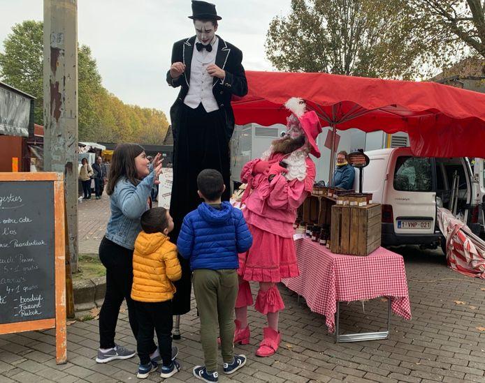 Halloween op de markt in Vilvoorde