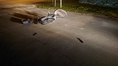 Fietsster gewond na aanrijding op fietspad