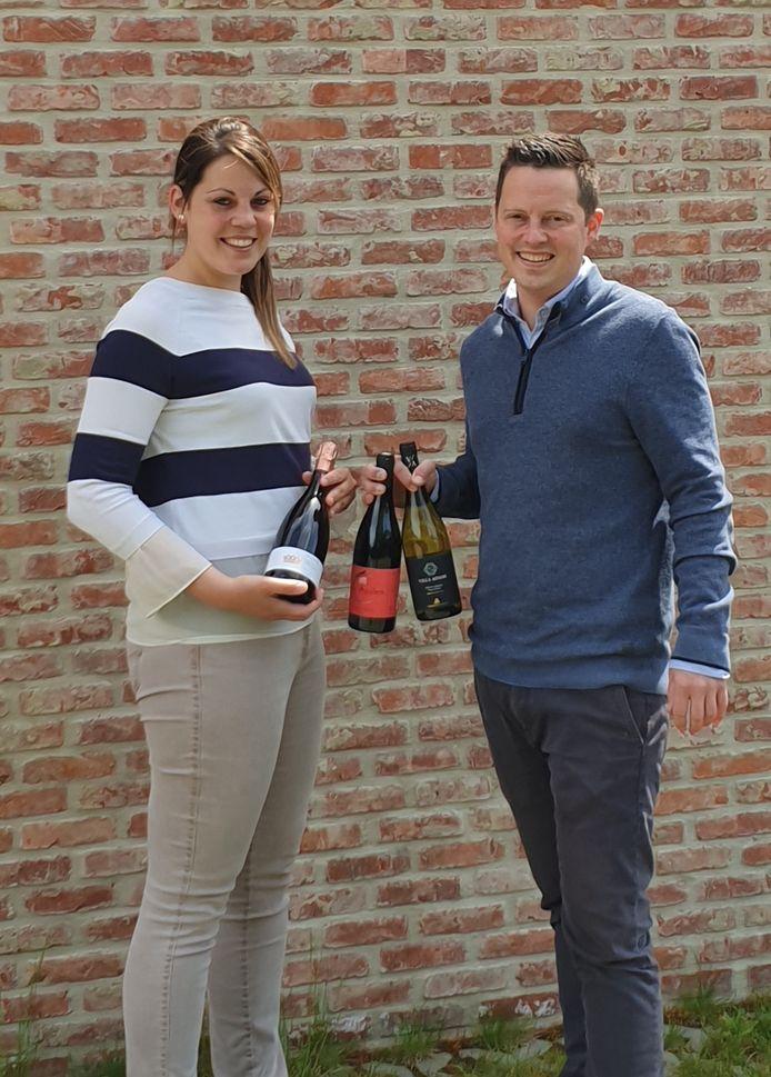 Johan en Julie gaan vol voor hun nieuwe webshop in Zandhoven.