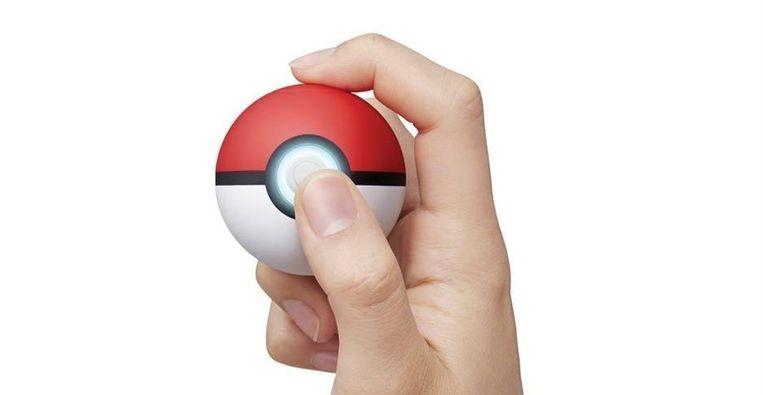 De Pokéball Plus. Beeld Nintendo