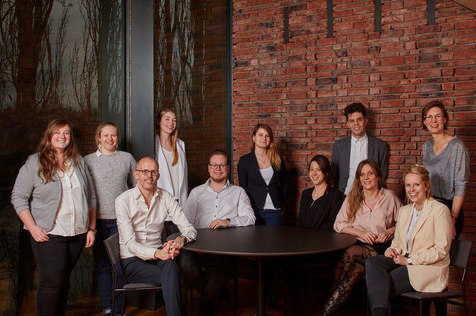 Het team van studie- en architectenbureau AST 77.