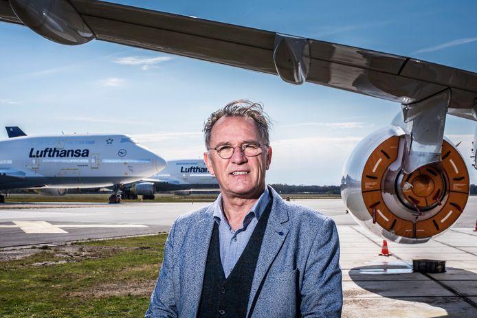 """Directeur Jan Schuring van Twente Airport en Technology Base: """"Een zuur maar eerlijk verhaal""""."""