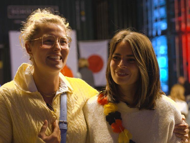 """Vriendinnen Brys en Van Zandweghe: """"Ze gingen voor een medaille, maar we zijn enorm trots op hen"""""""