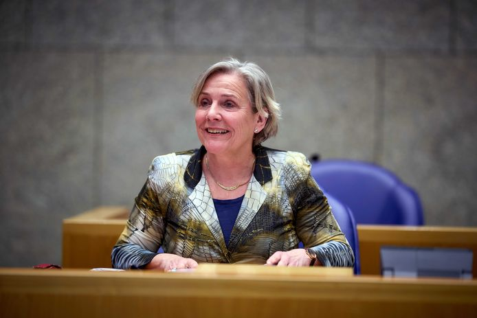 Demissionair minister Ank Bijleveld van Defensie.