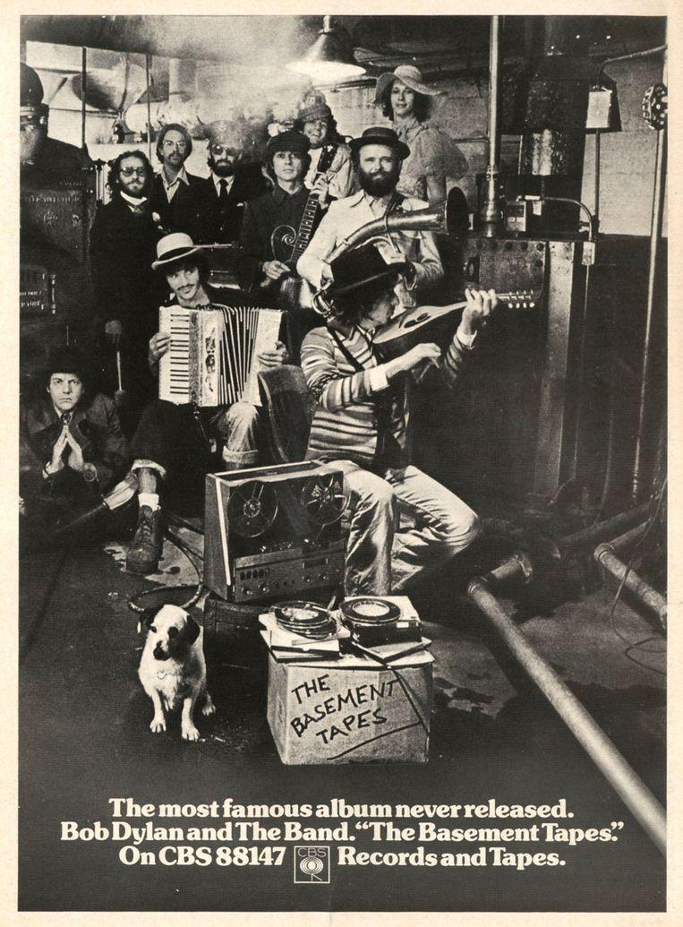 De lp Basement Tapes (1970). Beeld Hollandse Hoogte