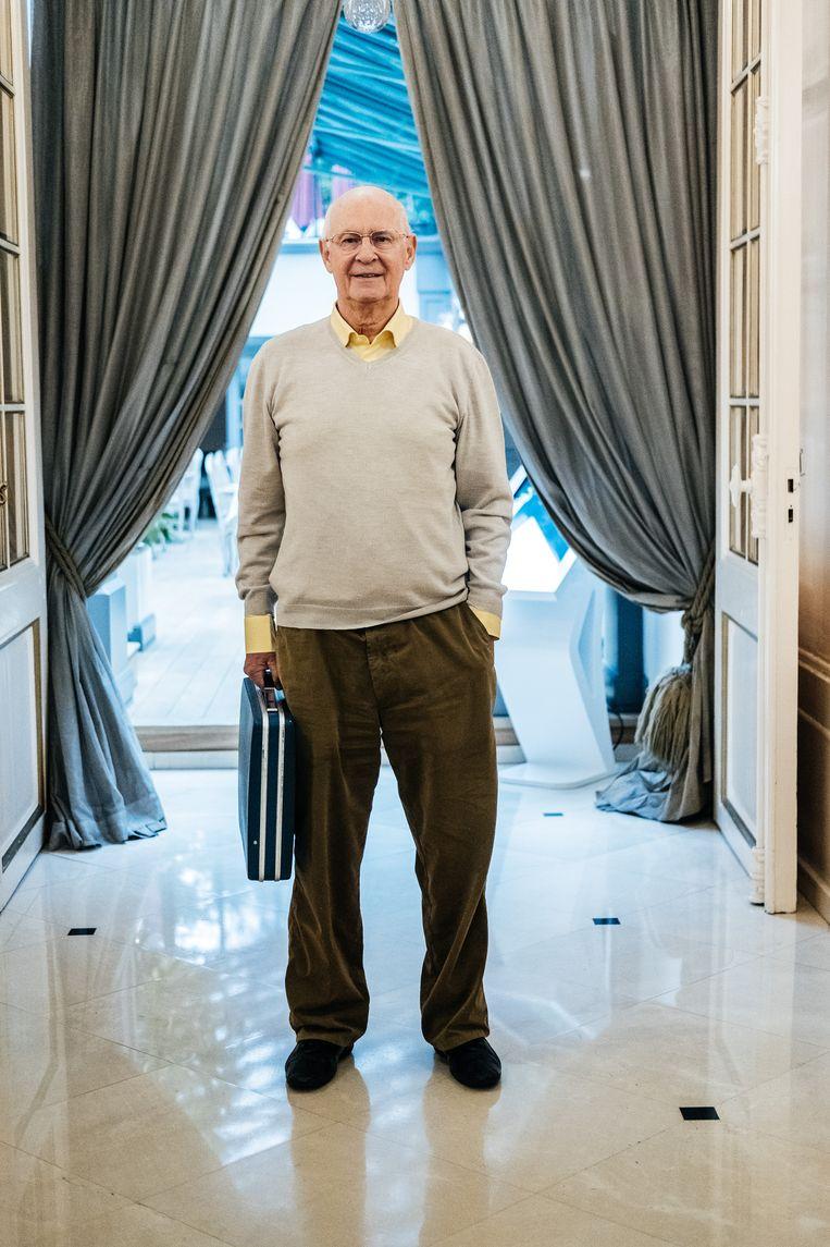 Jean Kluger, de producer van Will Tura. Beeld Wouter Van Vooren