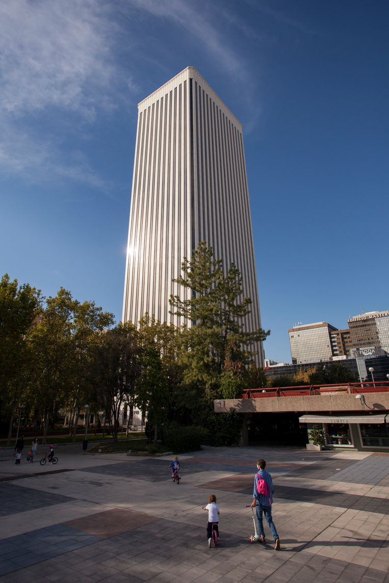 Torre Picasso Beeld Getty Images